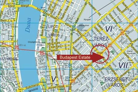 Budapest Estate Map